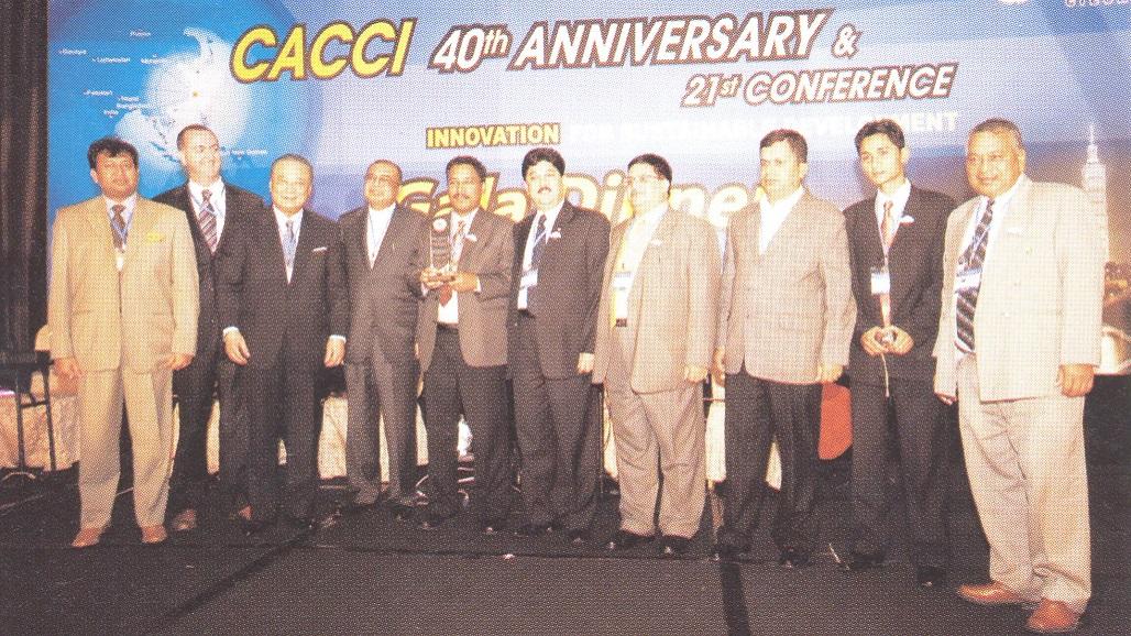 2006 Deepak Large local chamber award