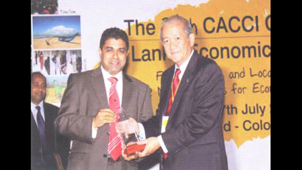 2010 Young Entrepreneur award Dhaka